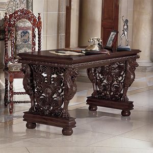 TOSCANO EFFINGHAM GRYPHON LIBRARY TABLE