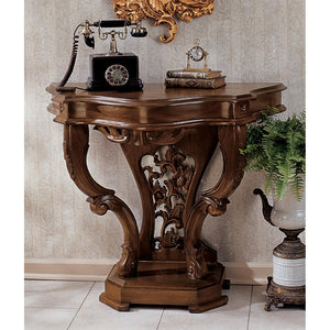 TOSCANO BROWN VAL DE LOIRE CONSOLE TABLE