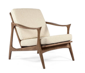 Tind Beige Lounge Chair