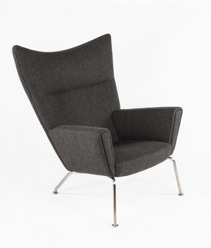 The Hoffman Lounge Chair, Black