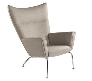 The Hoffman Lounge Chair, Wheat