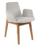 The Agder Arm Chair, Grey