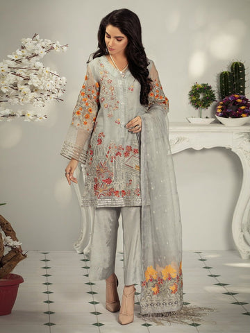 Pakistani Dress - Premium Chiffon Pakistani Dress