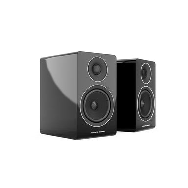 acoustic energy ae300 bookshelf speakers black
