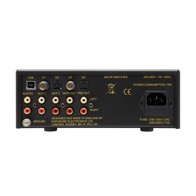 Exposure XMHP Headphone Amplifier, Pre-Amp, DAC, Phono | AUDIONATION