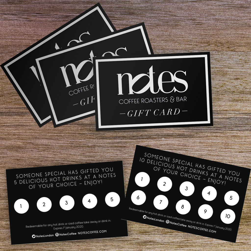 Drinks Voucher - Notes Coffee Webshop