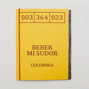 Book: Beber mi Sudor (Drink my Sweat) - Notes Coffee Webshop