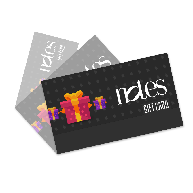 Virtual Gift Card (for Webshop) - Notes Coffee Webshop