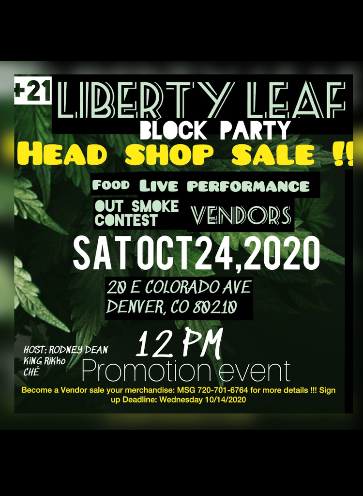 RMT X Liberty Leaf pop up event