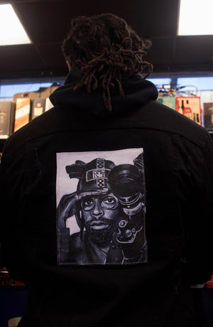 RMT Black History Jean Jacket- Spike Lee