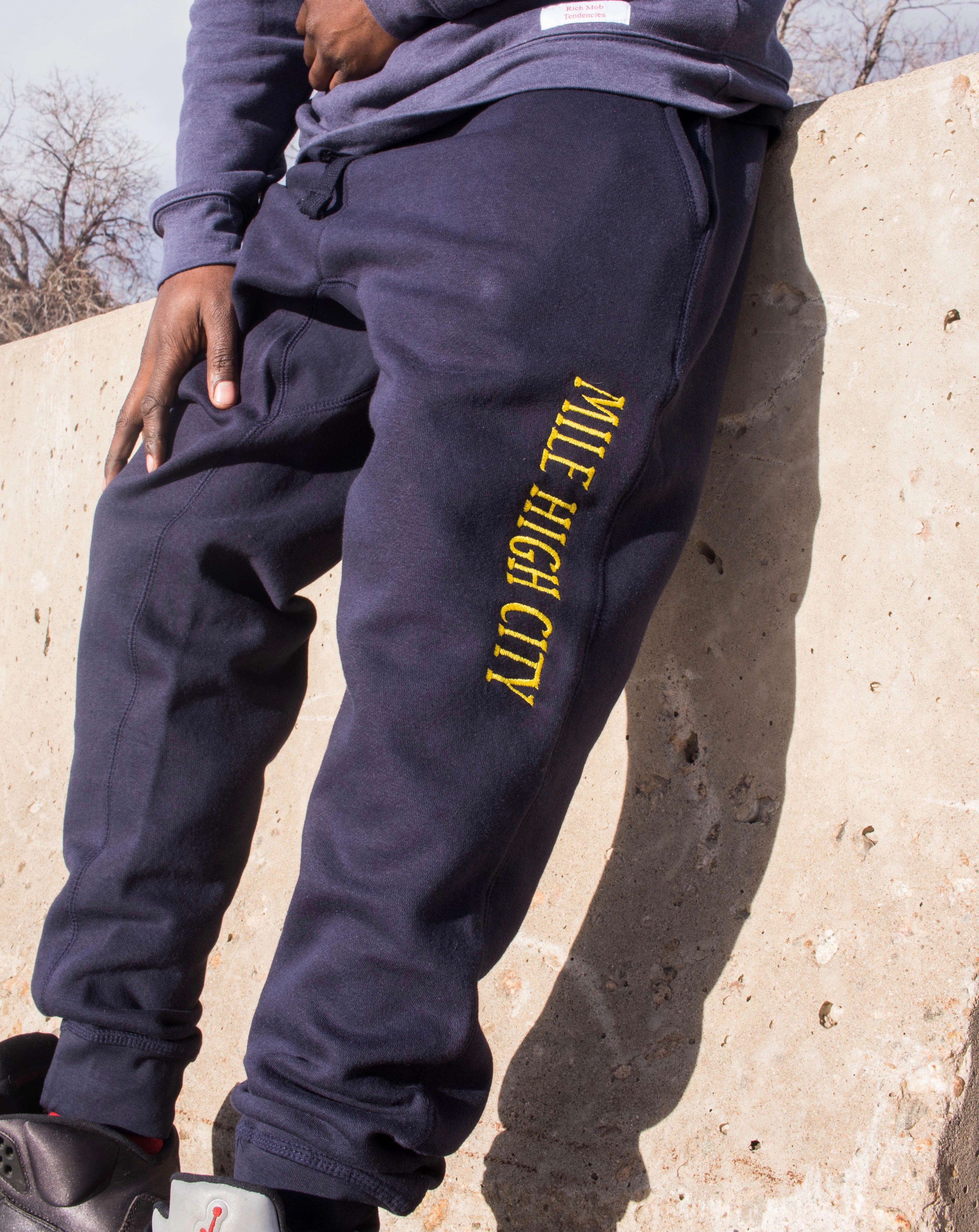 RMT Mile High City Joggers- Navy