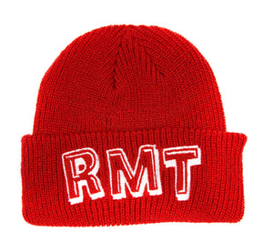 RMT Beanie - Red/White