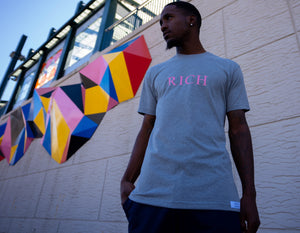 RMT Rich T- Shirt- Grey