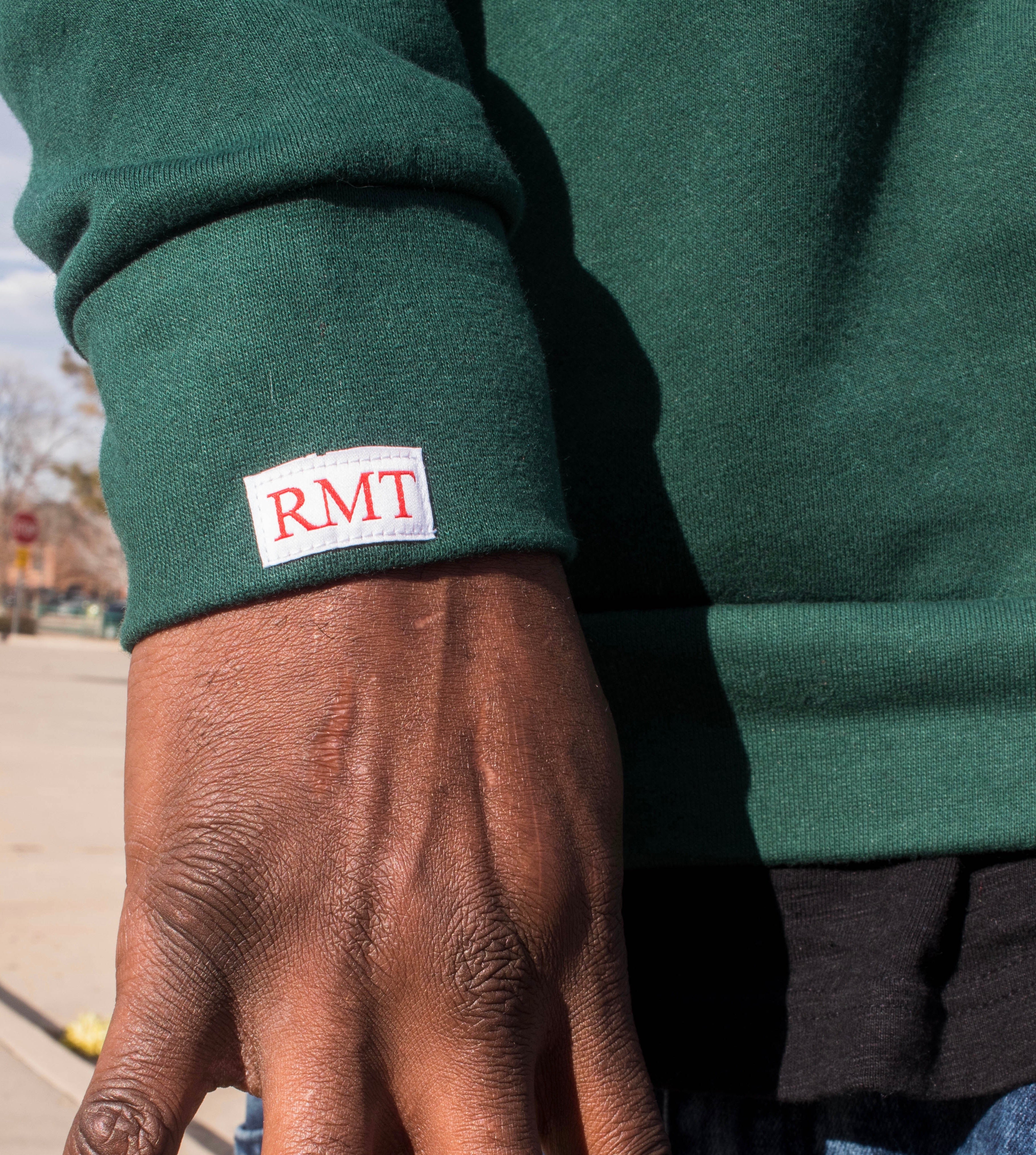 RMT4EVA Pocket Crewneck- Green