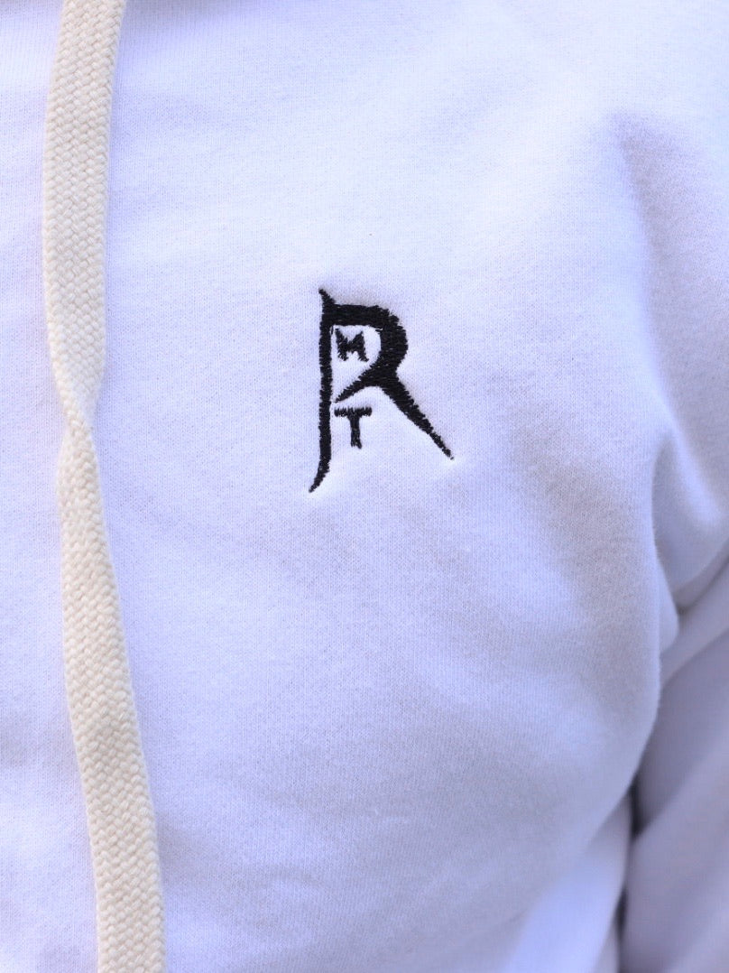 RMT Zip-Up - White