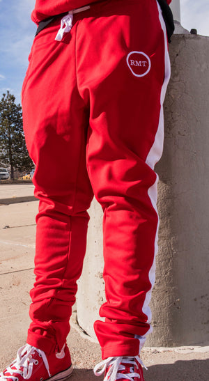 RMT Track Pants- Red