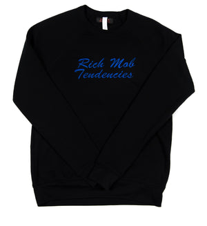 Rich Mob Tendencies OG Crewneck - Blue