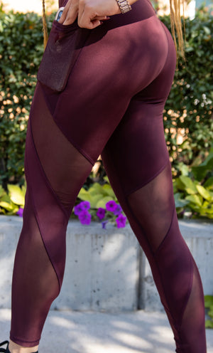 RMT leggings - Maroon