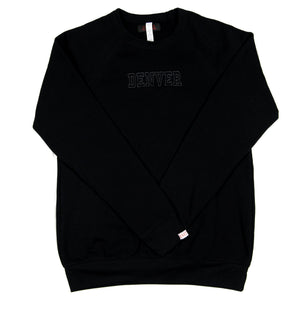 Denver Crewneck - Black/Black
