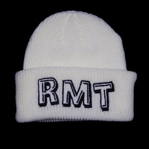 RMT Beanie - White/Metallic Black