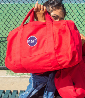 RMT Duffel Bag- Red, Blue, White