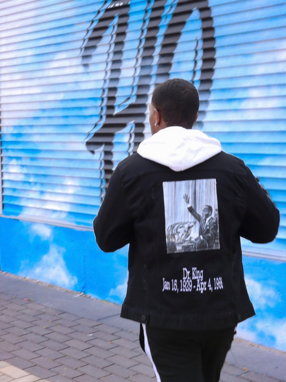 RMT Black History Jean Jacket- Martin Luther King