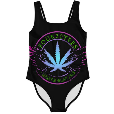 Four20tees Women's One Piece Swimsuit