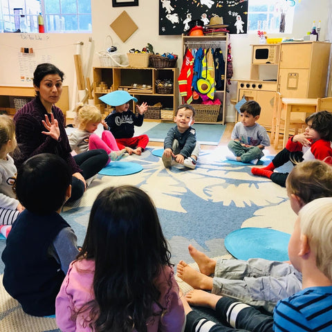 mindful kids in classroom