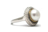 Pearl Ring in 14KY and Sterling Silver