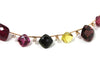 Diamonds and Multi-Tourmaline 14KY Necklace
