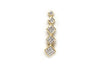 Diamond Ear Clip Ear Cuff Earring in 14k Yellow Gold