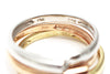 3-PC Diamond Ring Set in 14k Yellow Gold, Rose Gold and White Gold