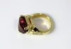 Rubellite Tourmaline 8.5ct14KY Ring