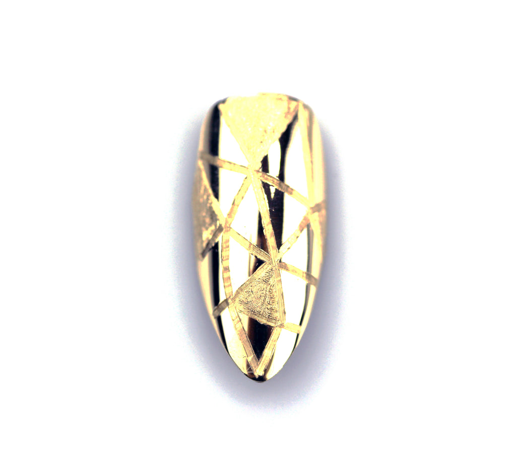 Gia Long Pointy Yellow Gold Nail