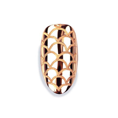 Melina Pointy Rose Gold Nail