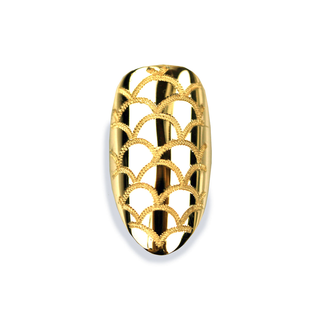 Melina Pointy Yellow Gold Nail