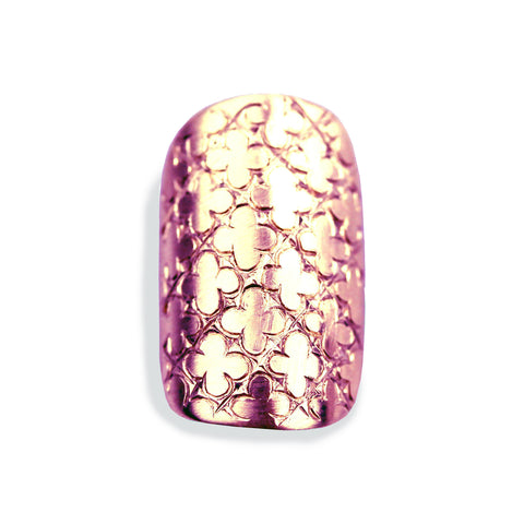 Chloe Sporty Square Rose Gold Nail