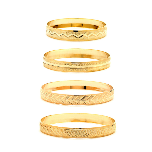 10mm Gold Bangle