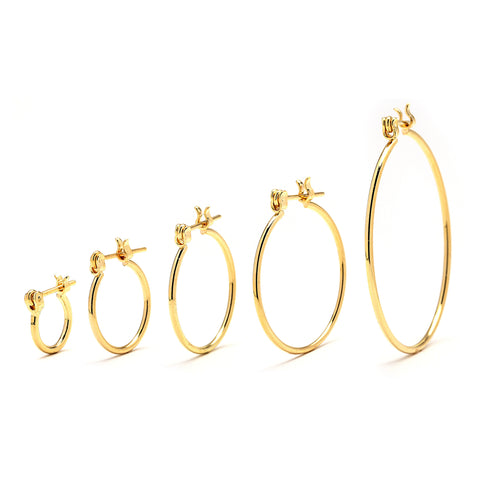 GDP01-Premium Hoop Earrings