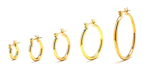 GDP02-Premium Hoop Earrings