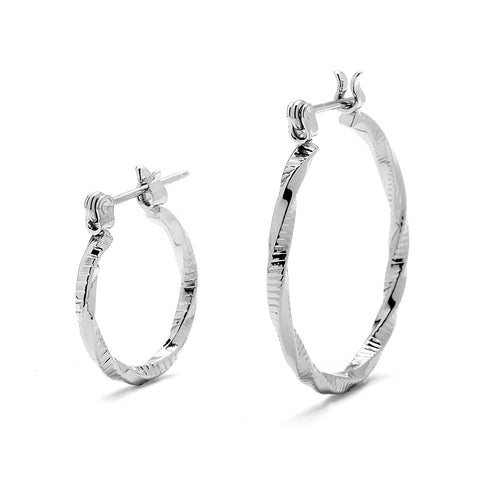 SPD11-Premium Hoop Earrings