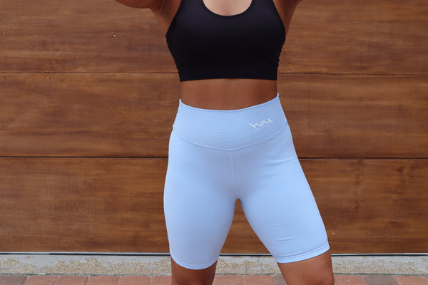 Biker Short (Ice Blue)