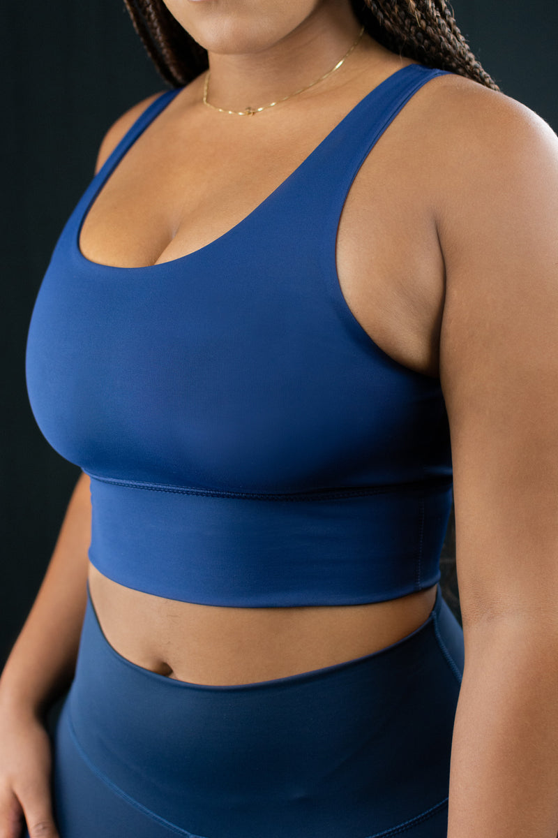 Elevate Bra (Midnight Navy)