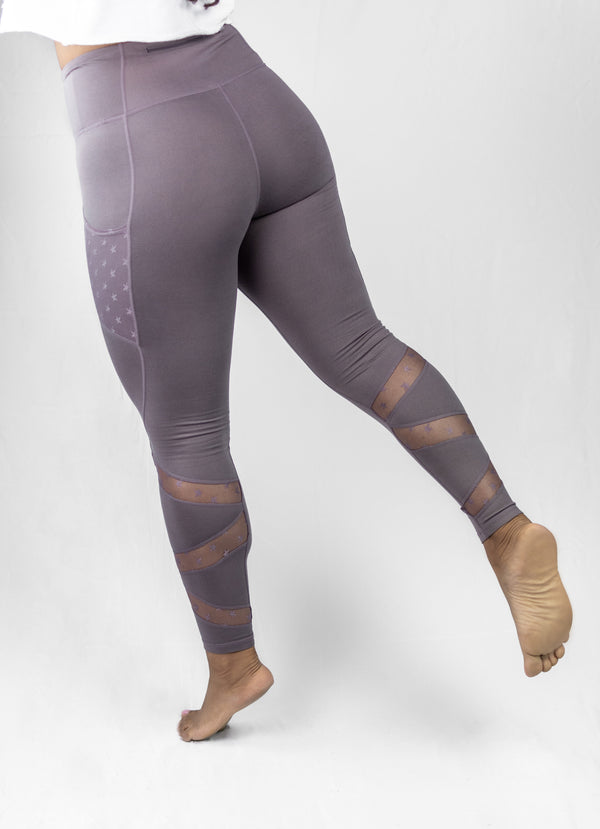 Star Mesh Highwaist Leggings