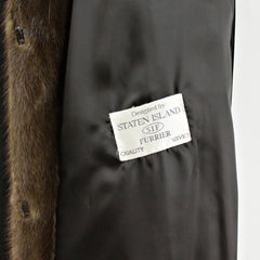 Demi Buff Mink Coat - Size S