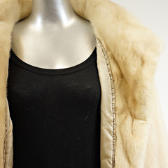 Autumn Haze Mink Fur Stroller - Size S/M - Pre-Owned