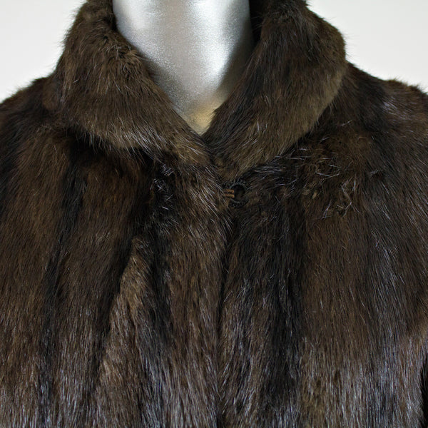 Otter Fur Jacket - Size S - Pre-Owned