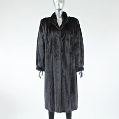 Ranch Mink Fur Coat - Size S/M - Pre-Owned