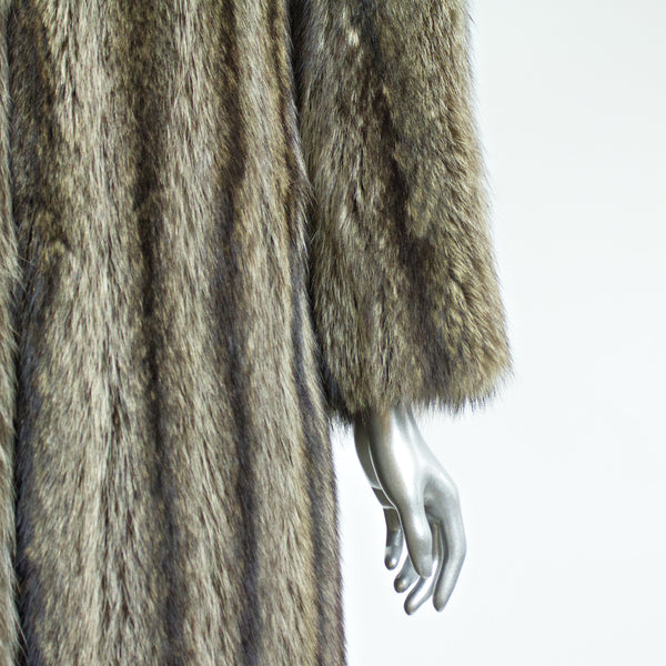 Raccoon Fur Coat - Size S