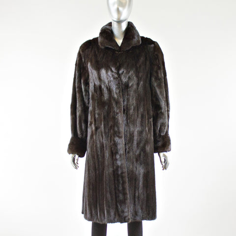Blackglama Ranch Mink  Fur Coat Size M-L